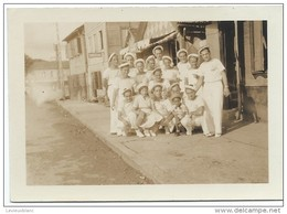 Photographie/ Groupe De Marins En Goguette//Marine Militaire/ Vers 1930-1950     MAR28 - Boten