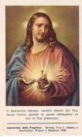 Sacro Cuore Di Gesù , Santino Con Preghiera Grafiche ALMA Milano - Religione & Esoterismo