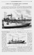 L'EMPLOI DE L'AIR COMPRIME POUR LE SAUVETAGE DES NAVIRES COULES  1910 - Transportation