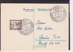 A23  /  Deutsches Reich  SST   /   Köln Rautenstrauch Museum 1937 - Germany
