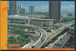 °°° 7996 - PHILIPPINES - MULTI LEVEL EDSA ORTIGAS INTERCHANGE - With Stamps °°° - Filippine