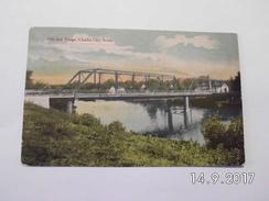 Charles City. - Old Iron Bridge. (27 - 4 - 1914) - Other