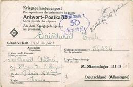 STALAG  Correspondance Des Prisonniers De Guerre - Briefe U. Dokumente