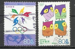 JAPAN 1997 - WINTER OLYMPIC GAMES - CPL. SET - OBLITERE USED GESTEMPELT USADO - Invierno 1998: Nagano