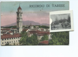 Carte à Système De Varese . Ricordo Di Varese ( Griffe Postale BOLOGNA - POSTA ) - Varese