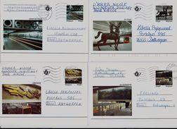 Belgie -Belgique  Briefkaarten BK39/43  Gestempeld - ECHT GELOPEN - Obliteré - Cartes Illustrées