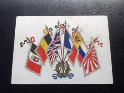 Carte De Voeux Société VICKERS LIMITED (fabriquant Britannique D'avions) Decembre 1915 - Marcophilie (Lettres)