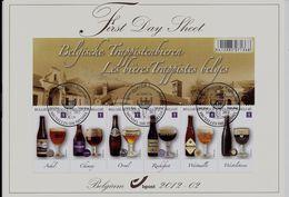 Belgie -Belgique BL197  Op  FDS  -  Belgische Trappisten - 2001-10