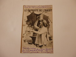 """Journaux Crevés """"Le Patroite De L'ouest"""". - Postcards"""