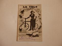 """Journaux Crevés """"Le Vélo"""". - Postcards"""