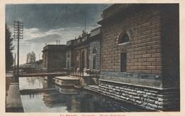 13659) LA SPEZIA ARSENALE PORTA PRINCIPALE VIAGGIATA 1922 - La Spezia