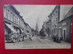Jemeppe S/Meuse : Rue De L'Hôtel Communal -ANIMATION (Légerement Froissée)  (J36) - Seraing