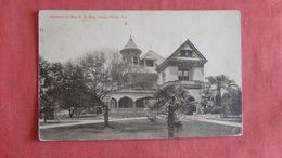 Residence Of Mrs H.M. King Texas > Corpus Christi  Ref 2693 - Corpus Christi
