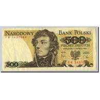 Pologne, 500 Zlotych, 1982, 1982-06-01, KM:145d, TTB - Pologne