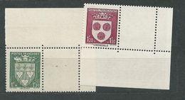 FRANCE  N°  556/57.   **  TB   Gomme D'origine - Unused Stamps