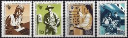 Germany (Berlin) 1969 - Telecommunications Technicians ( Mi 342/45 - YT 314/17 ) MNH** Complete Series - Unused Stamps