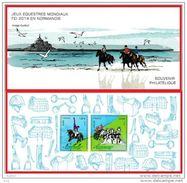 BLOC SOUVENIR N° 97 Jeux Equestres - Blocs Souvenir