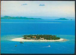 °°° 8013 - FIJI - LAUTOKA - BEACHCOMBER ISLAND - 1984 With Stamps °°° - Figi