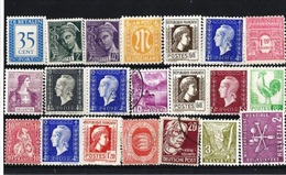 Lote Sellos Del Mundo Distintos Valores En Diferentes Estados - Colecciones (sin álbumes)
