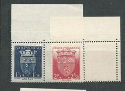 FRANCE      N°  558/59 **  TB   Gomme D'origine - Unused Stamps