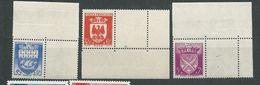 FRANCE      N°  562/64 **  TB   Gomme D'origine - Unused Stamps