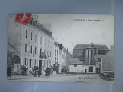 CPA 56 PLOERMEL RUE NATIONALE - Ploërmel