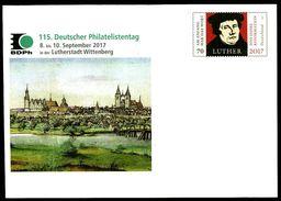 40248) BRD - Michel USo ? - * Ungebraucht Ausg.: 07.09.2017 - 70C  Martin Luther, 115. Deutscher Philatelistentag - [7] West-Duitsland