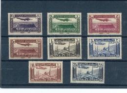SYRIE 1937 - YT PA N° 78/85 NEUF AVEC CHARNIERE * (MLH) GOMME D'ORIGINE TTB - Airmail
