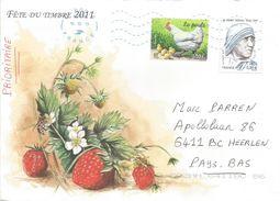 France 2013 Conflans Mother Teresa Nobel Chicken Cover - Mother Teresa