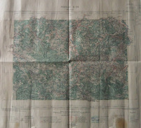 Carte Géographique Dressée Par Ordre Du Ministre De L'Intérieur - Mauléon Et Ses Environs - Année 1923 - Landkarten