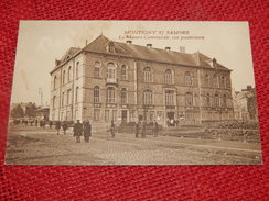 MONTIGNY SUR SAMBRE  -  La Maison Communale , Vue Postérieure - Charleroi