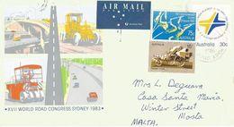 Australia 1996 Quirindi World Road Congress Envelope 67 Postal Stationary Cover - Postwaardestukken