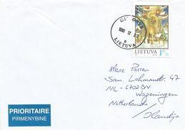 Lithuania 1999 Gironys Christmas Cover - Litouwen