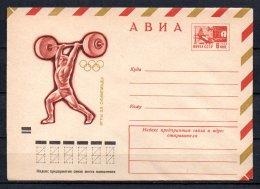 Russie Lot De 9 Entiers Postaux Théme Sports - 1923-1991 URSS