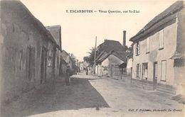 80-ESCARBOTIN- VIEUX QUARTIER , RUE ST ELOI - France