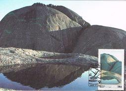 25715. Tarjeta Maxima RSA (Republica South Africa) 1986. Natuurskoon. Paarlberg Boland - África Del Sur (1961-...)