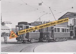 Motrices 1900 Des Tramways Près De La Gare, à Perpignan (66) - - Perpignan