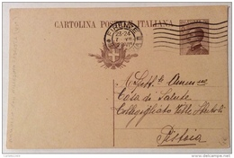 Cartolina Postale 30  Centesimi - 1861-78 Vittorio Emanuele II