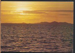 °°° 8014 - FIJI - EVERY NEW DAY BEGINS IN FIJI - 1992 With Stamps °°° - Figi