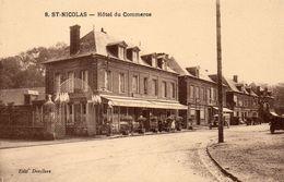 76 Saint Nicolas D'Aliermont.  Hotel Du Commerce - France