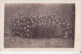 CARTE PHOTO 129 REGIMENT GROUPE DE SOLDATS CPA BON ETAT - Regiments