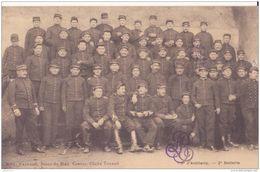 CASTRES 9éme ARTILLERIE 2 BATTERIE GROUPE DE SOLDATS CPA BON ETAT - Regiments