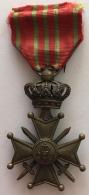 Médaille De Guerre Belge. Belgische Oorlogsmedaille. War Cross. Croix De Guerre. Oorlogskruis - Belgium