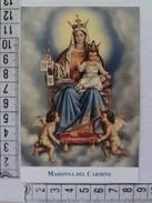 D778- Santino Madonna Del Carmine Editrice Velar Preghiera Di Giovanni Paolo II - Santini