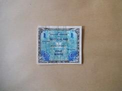 ALLIERTE MILITÄRBEHÖRDE EINE MARK 1944 IN UMLAUF GESETZT 000739937 - [10] Military Banknotes Issues