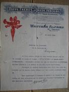 QUEDINBOURG 1928 - DIPPE FRERES - Producteur De Graines De Betteraves - WAUTERS Alfred De ST-TROND Agent Pour BELGIQUE - Allemagne