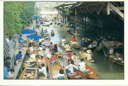 Thaïlande - Damnernsaduak Floating Market Rajburi Province - Neuve - 1255 - Tailandia