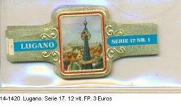 Vitolas Lugano, Serie 17. F.P. Ref. 14-1420 - Vitolas (Anillas De Puros)