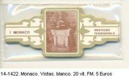 Vitolas Monaco, Vistas Blanco. F.M. Ref. 14-1422 - Vitolas (Anillas De Puros)