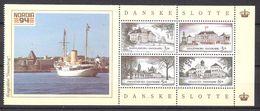 Denmark  1994 Castles:  Marselisborg, Amalinborg, Fredensborg And Graasteen  Mi  1073-1076 In Pane  Booklet MNH(**) - Unused Stamps